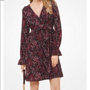 Michael Kors Dresses - NWT Michael Kors Paisley Print Dress XXL